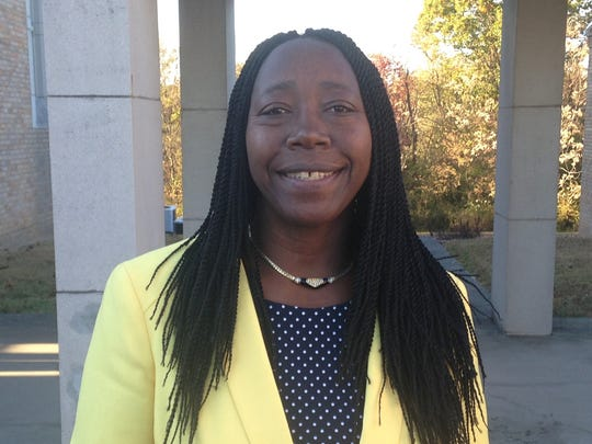 Drocella Mugorewera is the executive director of Bridge Refugee Services. She said there are plenty of unknowns after Donald Trump's election, but said she's happy to live in a country where she can vote.