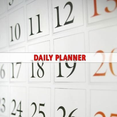 Daily Planner calendar for Jan. 22
