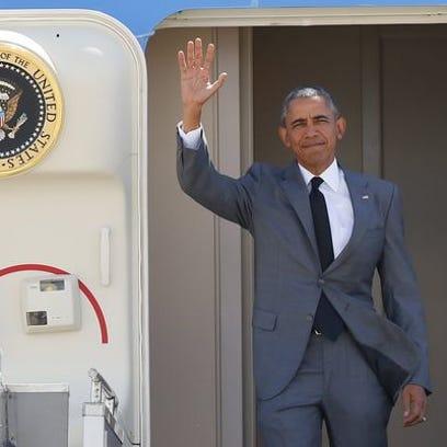 President Obama on Nov. 17, south of Manila.