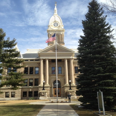 The Ingham County Courthouse.