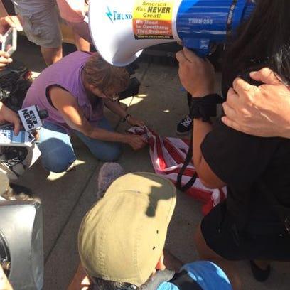 Hoff: Burning flag, criminalizing free speech despicable