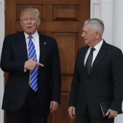 Mattis needed voice on Trump's defense team
