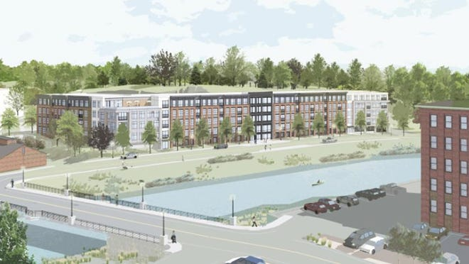 A new site grading plan has been approved for Cathartes' waterfront development project in Dover.