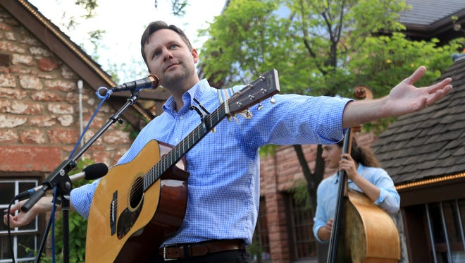 Singer-songwriter Nic Chamberlain performs Thursday night at the SUSWA Spring Concert Series at Ancestor Square in St. George.