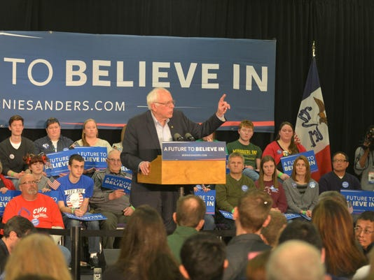 2016 Jan 31 Waterloo Rally Bernie 2