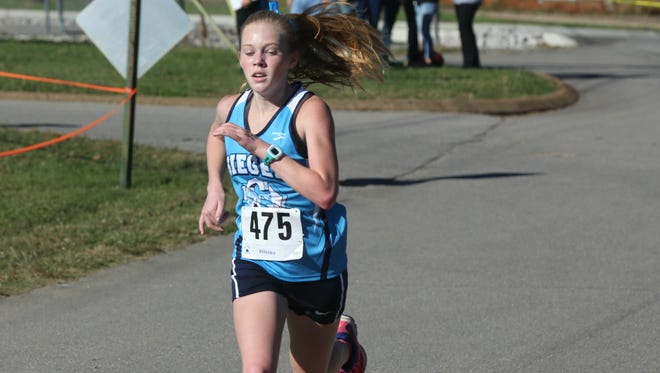 Siegel freshman Marilyn McCarthy is one of the finalists for All-Area Girls Runner of the Year.