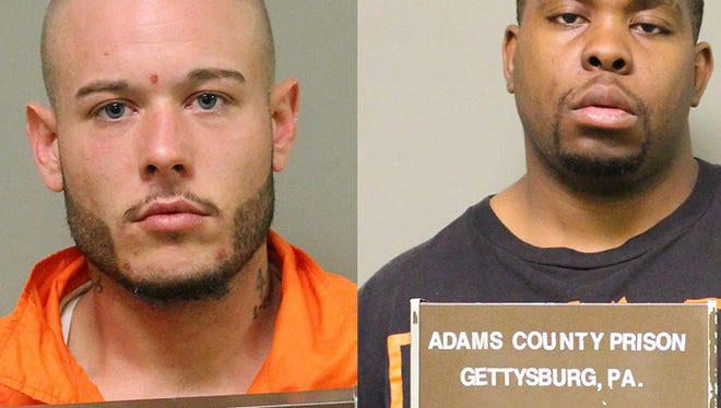 Anthony Palmisano Jr., left; Derrick DeGroft, right