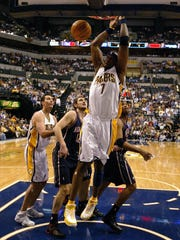 Jermaine O'Neal's tallied 37 points and 15 rebounds