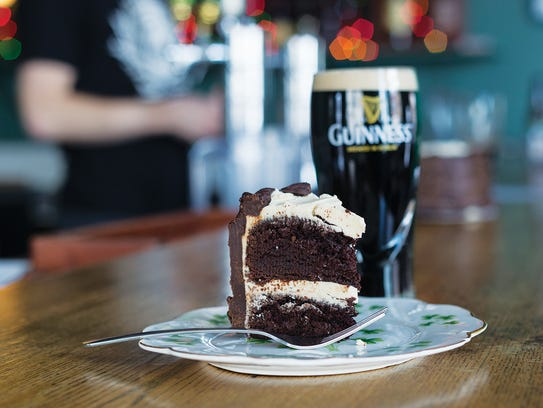Guinness Chocolate Cake from Barry's Old School Irish.