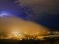Fuertes lluvias azotaron al Valle durante la noche