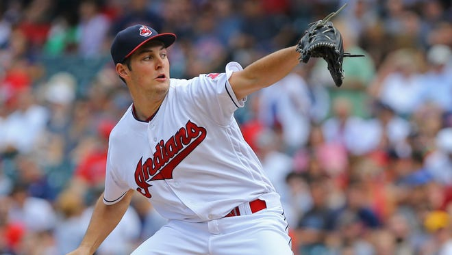 Trevor Bauer will start Game 1 of the ALDS against the Red Sox.