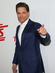 Rob Lowe attends the premiere of 'Super Troopers 2.'