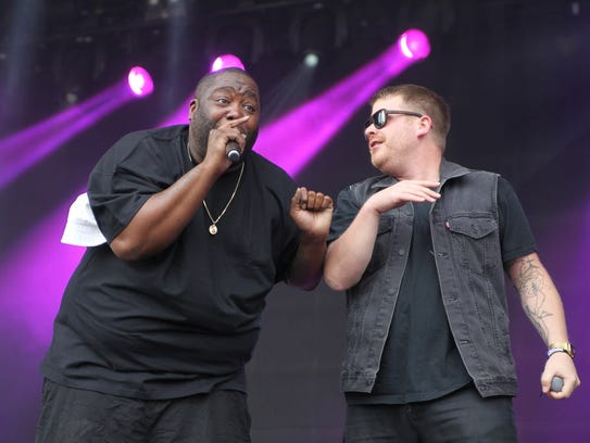 El-P and Killer Mike with Run the Jewels returns to Des Moines to support Lorde on March 25 at Wells Fargo Arena.