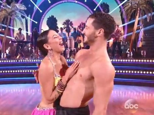 Janel and Val on Week 6.
