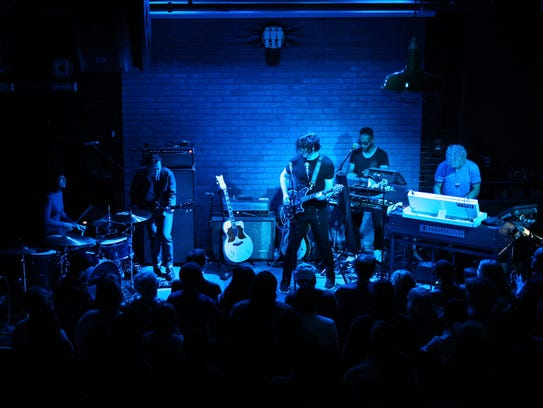 Jack White performs at Third Man Records in Detroit