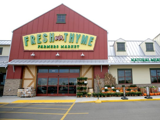 Fresh Thyme Farmers Market, a 28,000-square-foot grocery