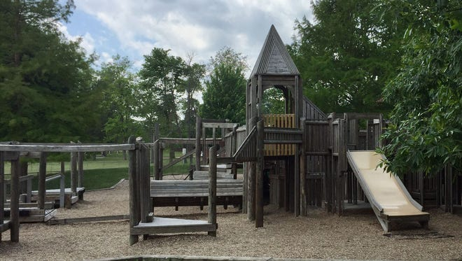 Burris Laboratory School's playground will be closed for the summer, and will be replaced, school officials announced in May 2018.