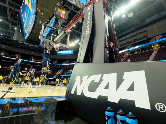NCAA Basketball: NCAA Tournament-West Virginia Practice