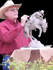 Jack Walker is a local sculptor who will share the Deming Arts Center with painter Holli Strand for the month of April.
