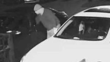Franklin Township Police are requesting the public's help to identify a suspect in thefts from several vehicles reported on Feb. 23.