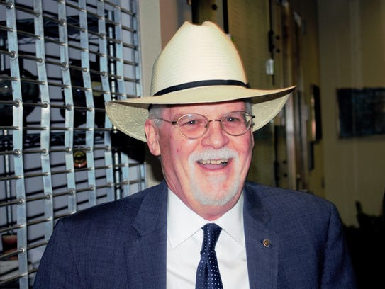 Tom Wakely before the Governor Candidate Forum in San