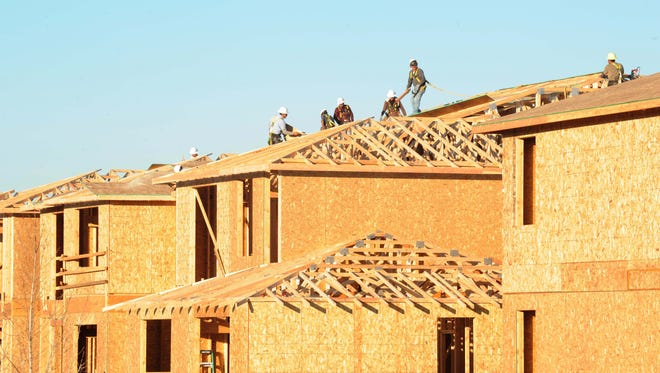 File art of new real estate construction.