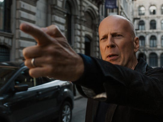 Bruce Willis pays homage to the original vigilante,