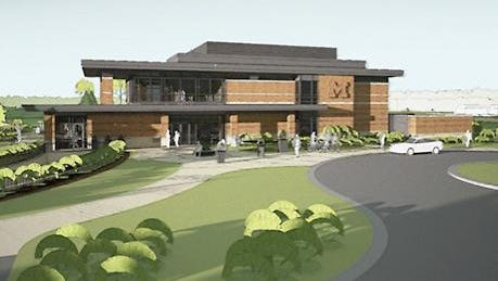 This is a rendering of the clubhouse design that was approved by UM Regents on Thursday.