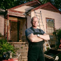 "This undated photo provided by FOX shows professional contractor Mike Holmes, who has a new show called ""Home Free."""