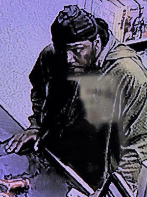 Shelby Police are looking for information on this man who could be connected to an attempted breaking and entering at American Tactical and Pawn on North Lafayette Street.