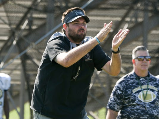 High School Football: Eau Gallie head coach Chris Sands