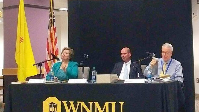 Miller Library hosted a forum to discuss the mil levy and bond B and C issues Monday night.