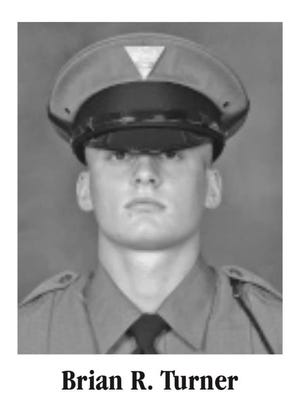 Brian Turner is the fourth generation of his family to join the New Jersey State Police, following his father, grandfather and great-grandfather.