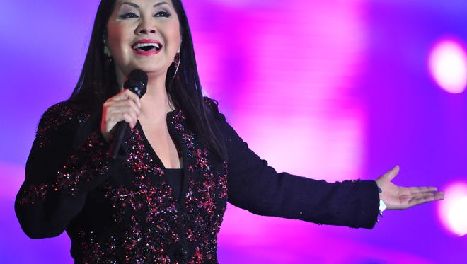 The popular Mexican singer Ana Gabriel will be performing April 9 at the El Paso County Coliseum.