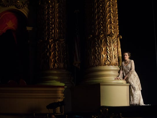 Opera Philadelphia Soprano Brenda Rae sings during
