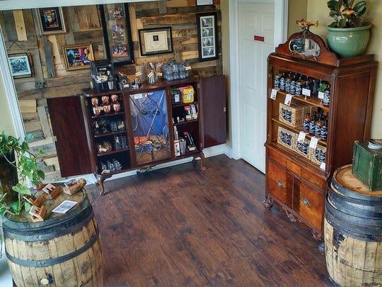 The McClary Bros. tasting room in Farmington