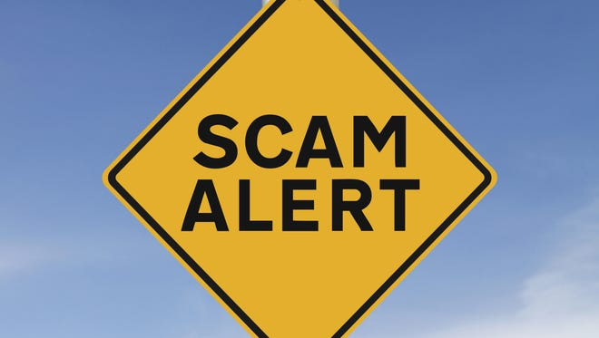 If someone entices you with a large amount of money for the use of a small amount of your own money, you're probably being scammed.