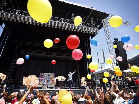 Gloom Balloon performs at 80/35 on Friday, July 4,