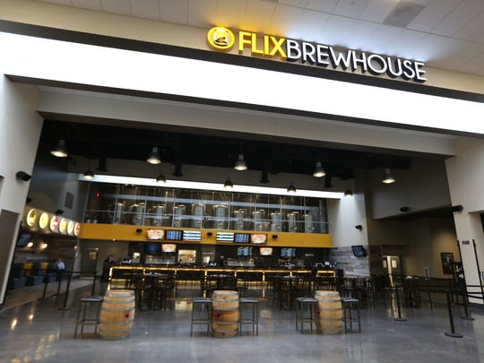 Flix Brewhouse is one of the anchors that make Merle Hay Mall a destination for shoppers, the mall's CEO Elizabeth Holland said.