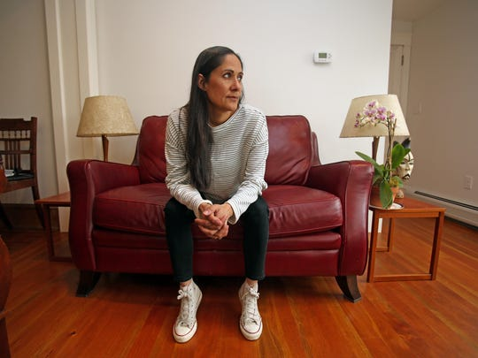 Actress Sakina Jaffrey most recently played Linda, the conniving chief of staff to Kevin Spacey on 'House of Cards,' as well as the sheriff on 'Sleepy Hollow.' Jaffrey was photographed at her home in Nyack May 6, 2015.