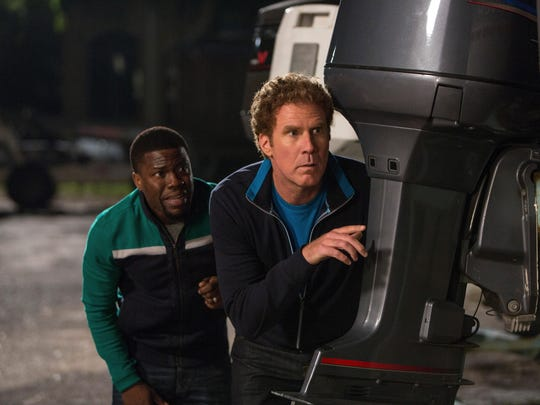 """Kevin Hart and Will Ferrell star in """"Get Hard."""""""