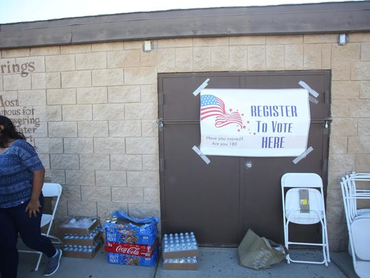 Saturday's event was the first of a 40-month project to encourage Latinos to register to vote in the city of Desert Hot Springs.