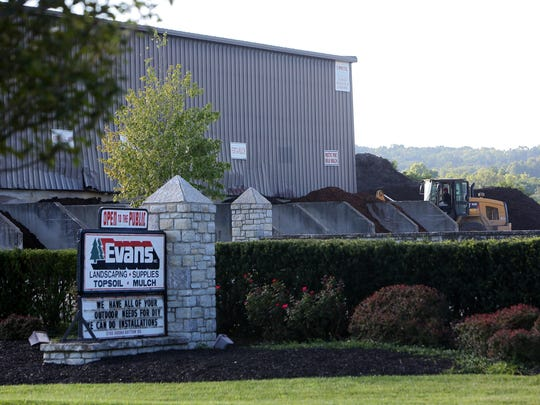 FBI agents raided the Newtown headquarters of Evans Landscaping in July 2015.