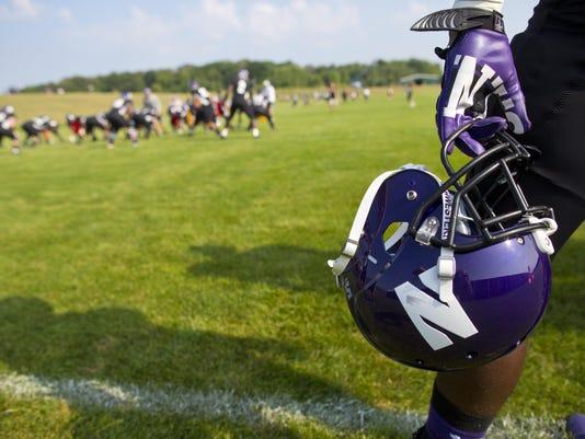Northwestern Football_Turn