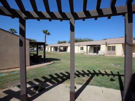 The apartment units at Coachella Community Homes, an