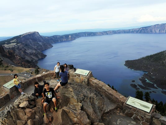 OUTDOORS CRATER LAKE