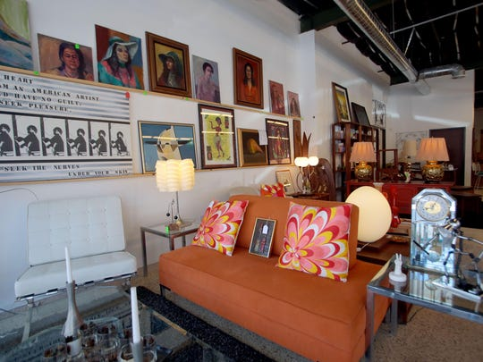 Modernist decor store Lot 58 in Palm Springs is preparing for its furniture and art auction on Oct. 10.
