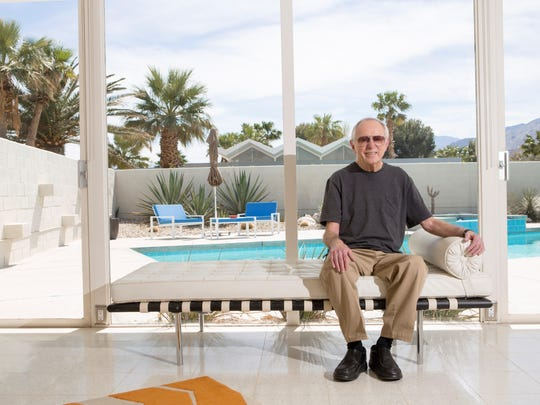 Donald Wexler sits at Steel Development House No. 2 in March 2015.