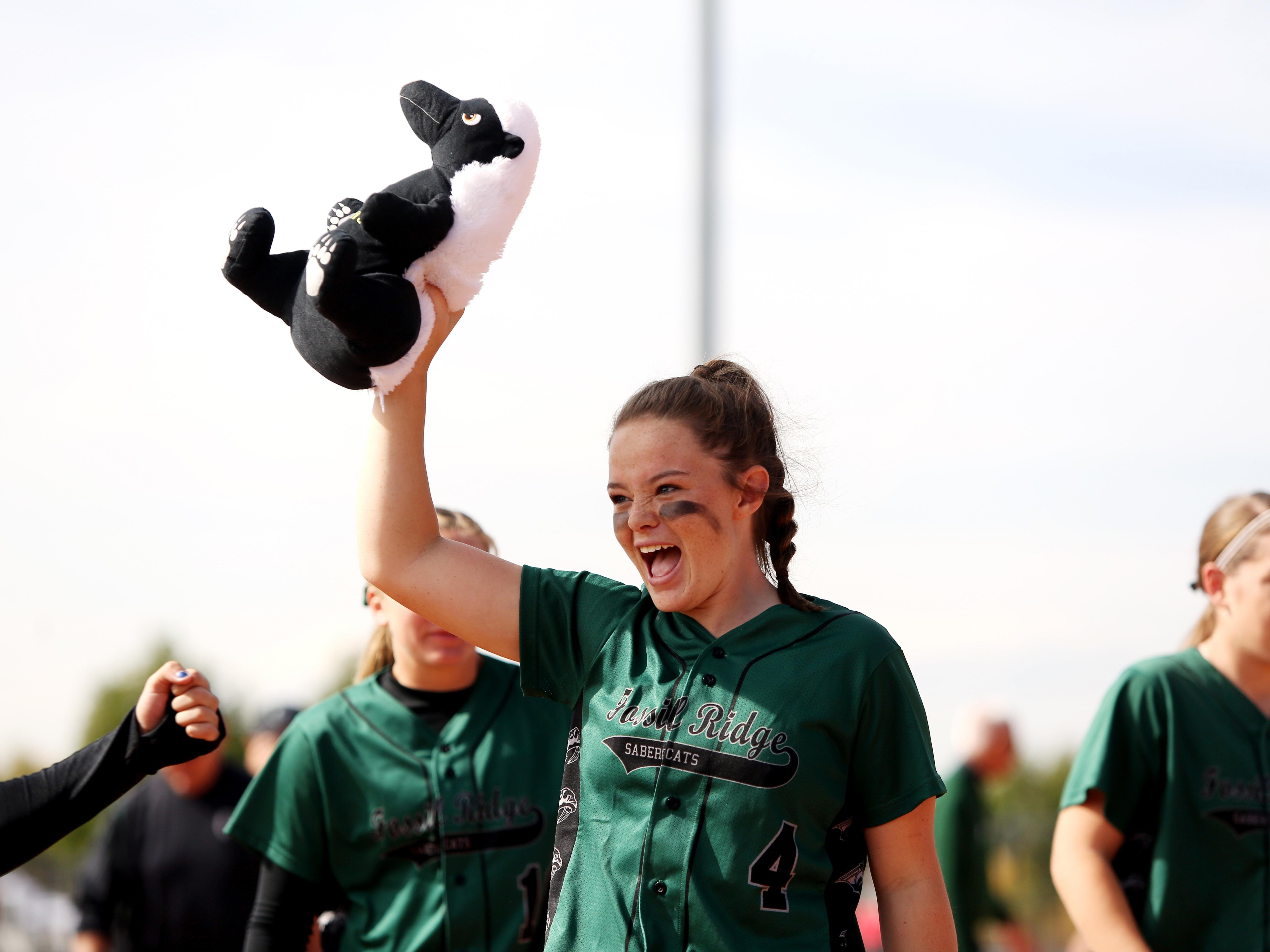 Fossil Ridge's Haley Donaldson is second in Colorado with a .750 batting average after missing almost all of 2014 with a torn ACL.