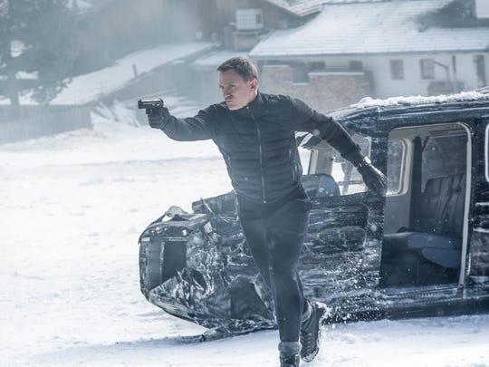 "Daniel Craig stars as James Bond in ""Spectre."""